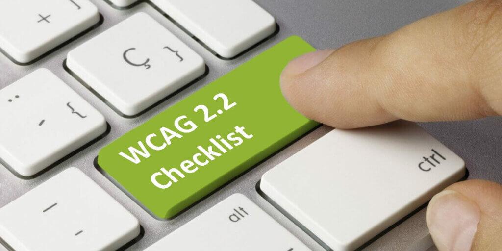 WCAG 2.2 checklist by adasitecompliance.com