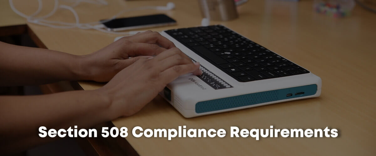 Section 508 Compliance Requirements
